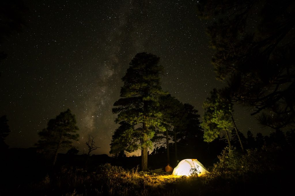 right camping spot
