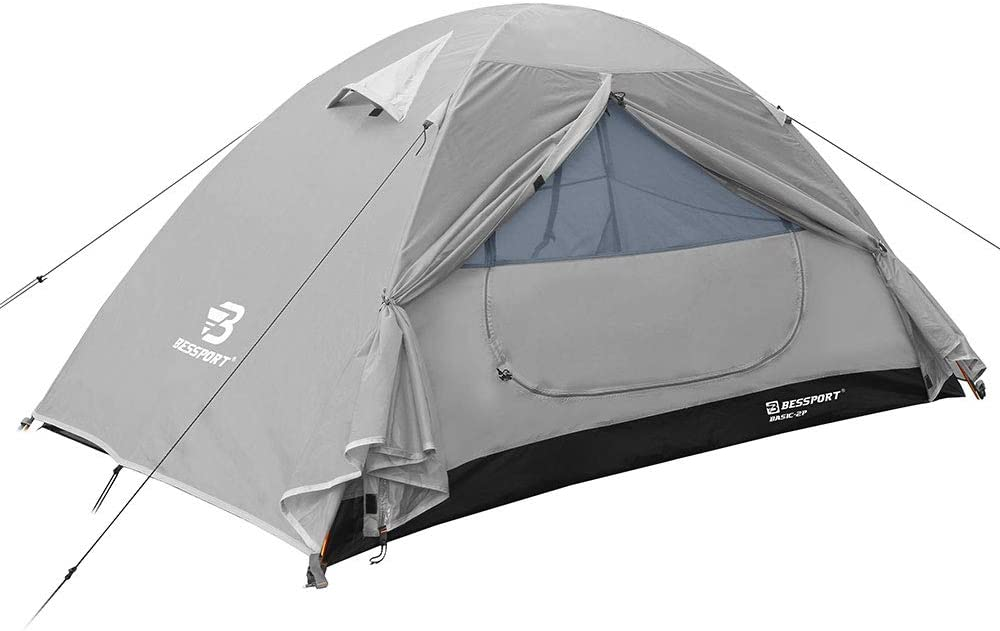 Bessport Camping Tent 1 and 2 Person Lightweight Backpacking Tent