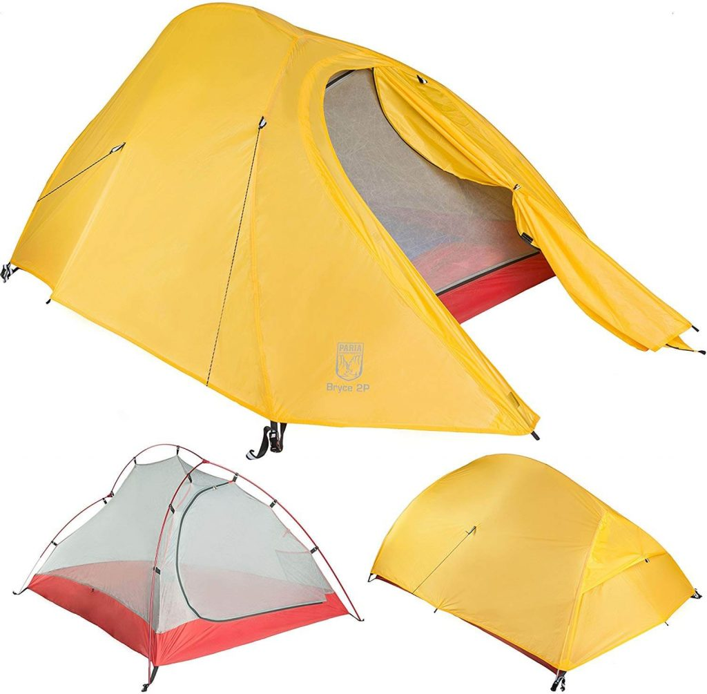 Paria Outdoor Products Bryce Ultralight Tent and Footprint