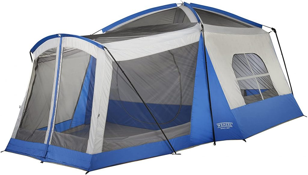 Wenzel 8 Person Klondike Family Camping Tent