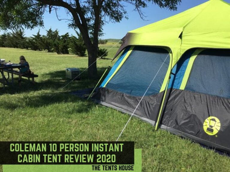 Coleman 10 Person Instant Cabin Tent Review