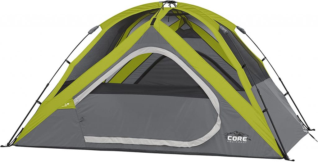 Core Equipment Dome Tent - Best 4 Person Instant Tent