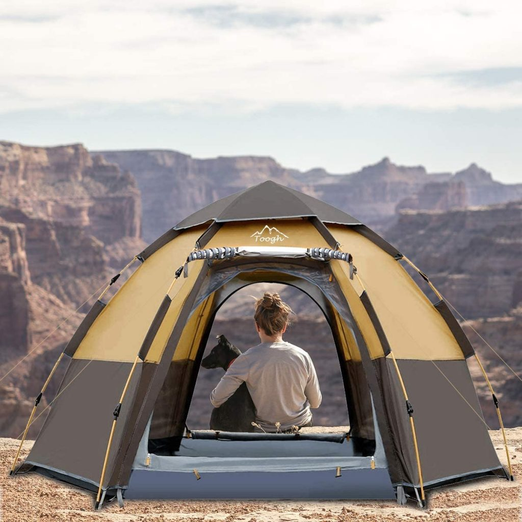 Toogh Best 4 person dome tent