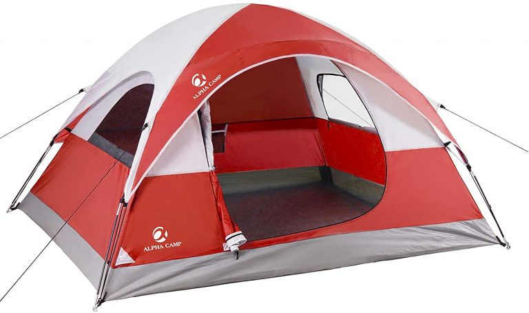 ALPHA CAMP 3 Person Camping Dome Tent