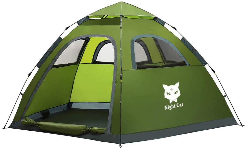 Night-Cat-Waterproof-3-Person-Camping-Tent