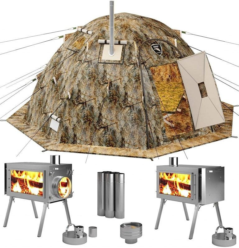 Russian-Bear Hot Tent Wood Burning Stove