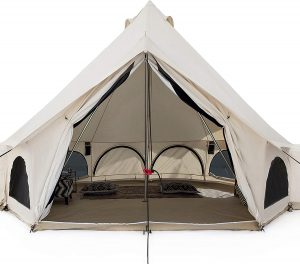 White Duck Outdoors Canvas Bell Tent