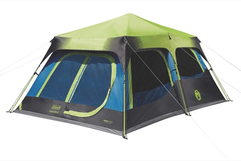 Coleman 10 person instant cabin tent