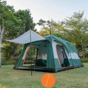 KTT Extra Large Tent 12 Person Family Cabin Tent
