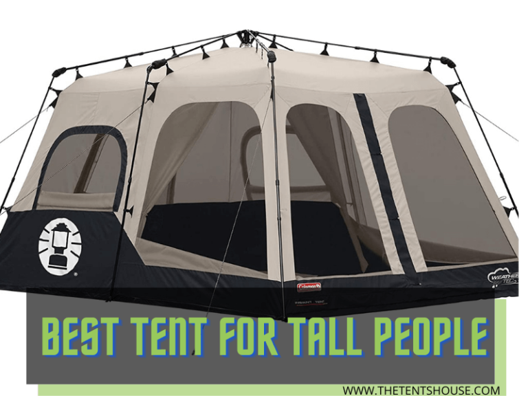 best tents for tall people